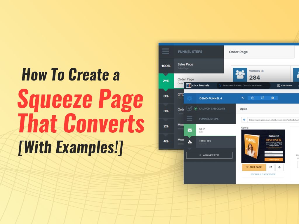 7 Important Steps to a Squeeze Page